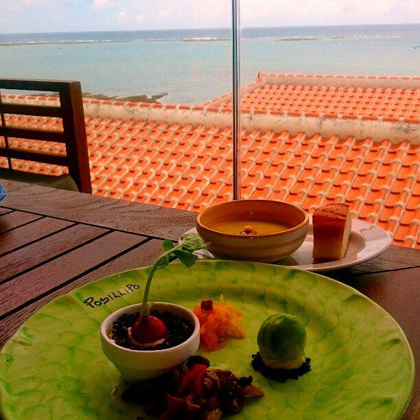 那覇空港から車で20分!瀬長島にある絶景レストラン「ポジリポ」で癒されたい