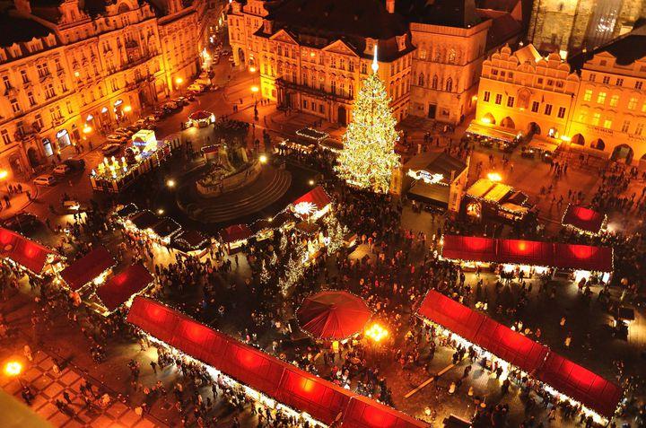 憧れの本場クリスマス!プラハのクリスマスマーケットは夢のような世界だった