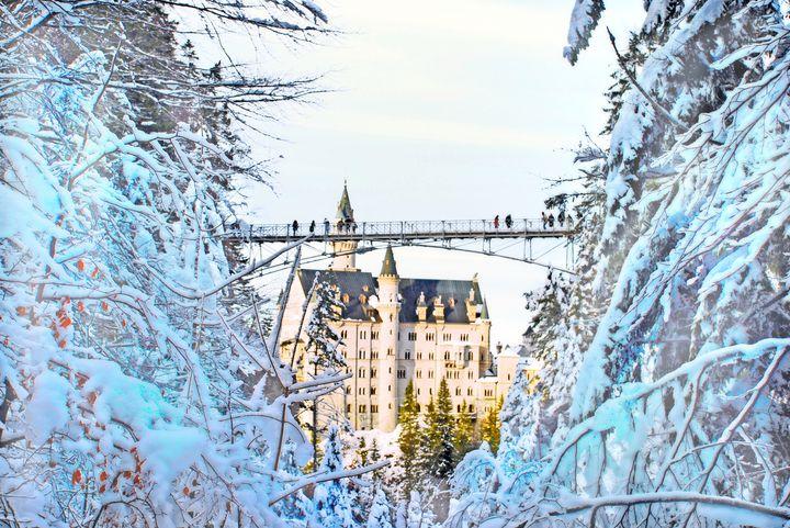 季節ごとに姿を変える魔法のお城。ドイツ「ノイシュヴァンシュタイン城」に行ってみた