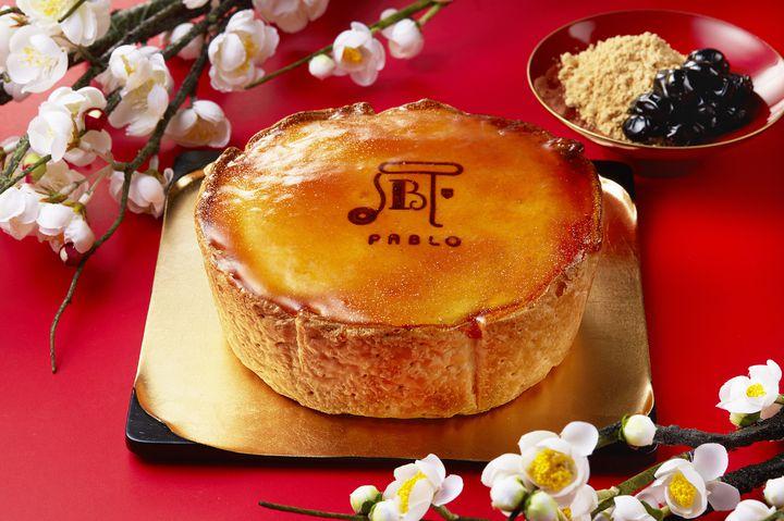【終了】年末年始限定!パブロから「焼きたて黒豆きなこチーズタルト」が登場