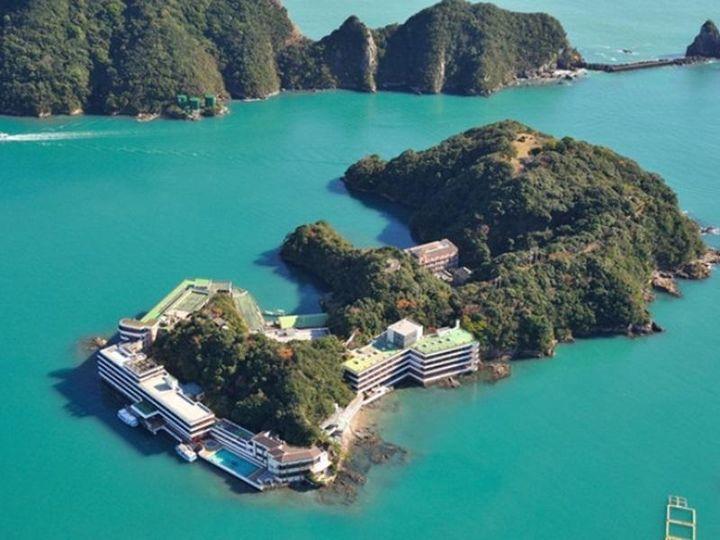 """海に浮かぶホテル!和歌山県""""ホテル中の島""""で非日常感溢れる休日を過ごそう"""