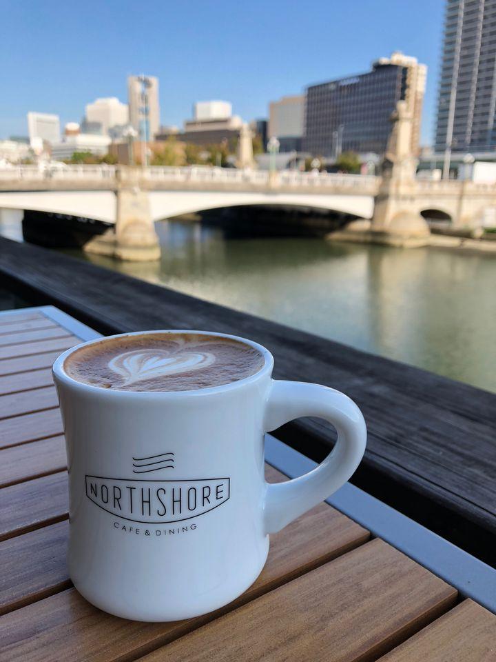 大阪 カフェ NORTHSHORE