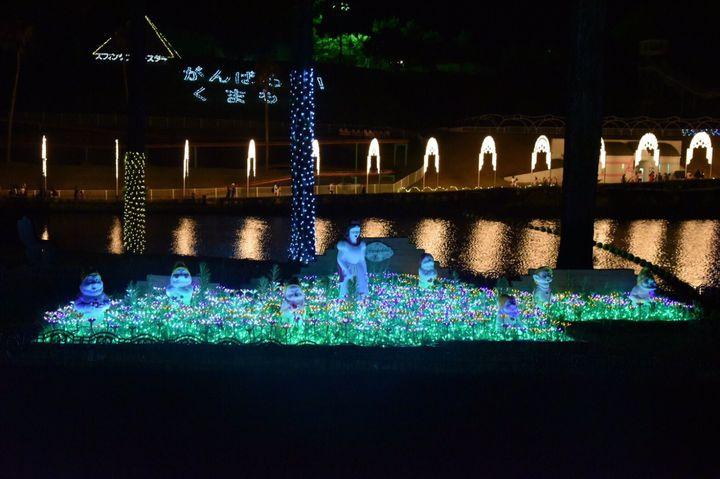 【終了】九州最大の遊園地「グリーンランド」でイルミネーションイベント開催中!