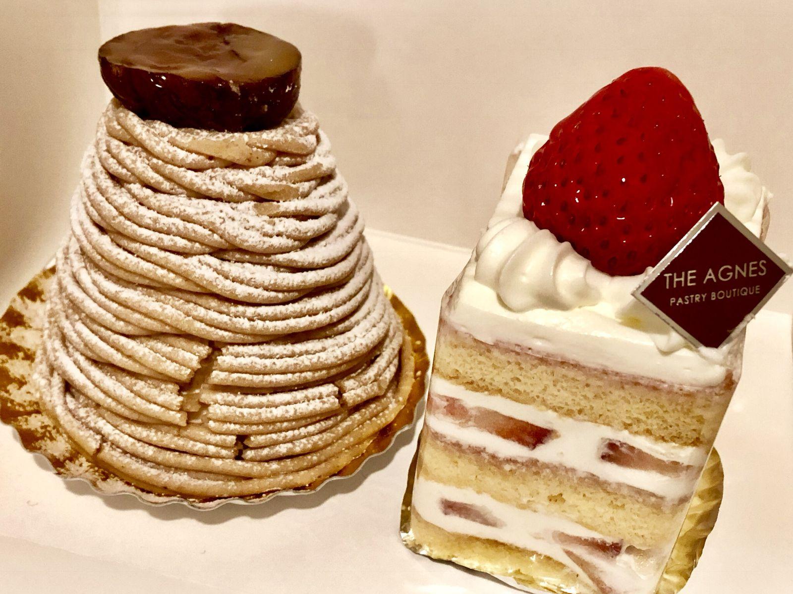 ケーキ アグネス