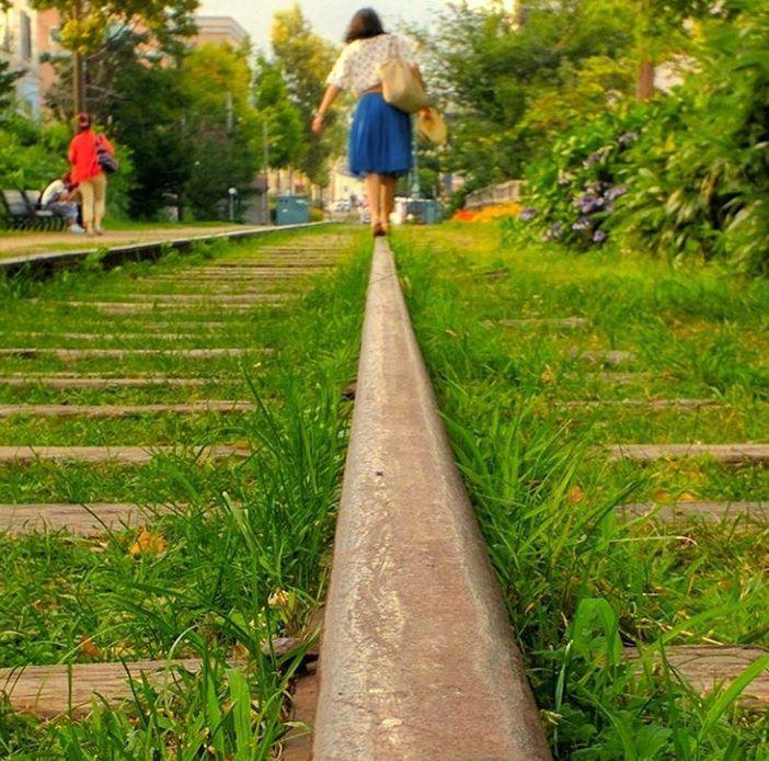 センチメンタルな美しさ。北海道の廃線跡「旧手宮線跡地」が気になる