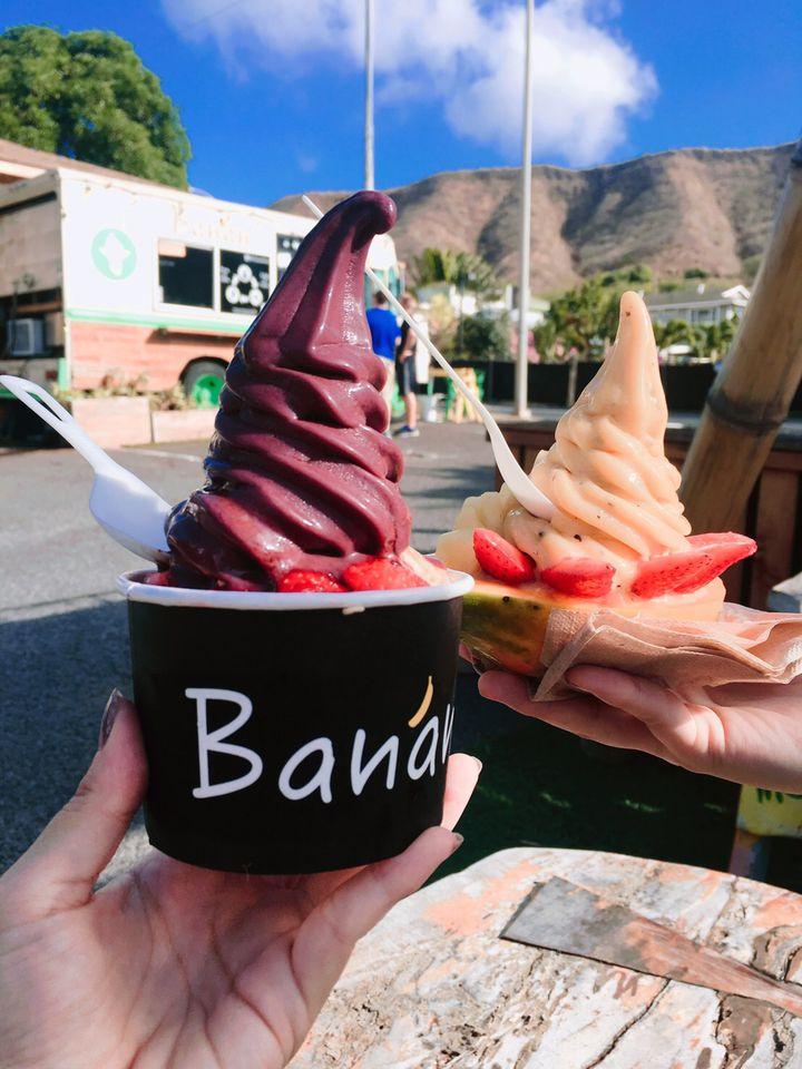 パパイヤがコーン代わり?ハワイで人気のアイス「Banan」に注目