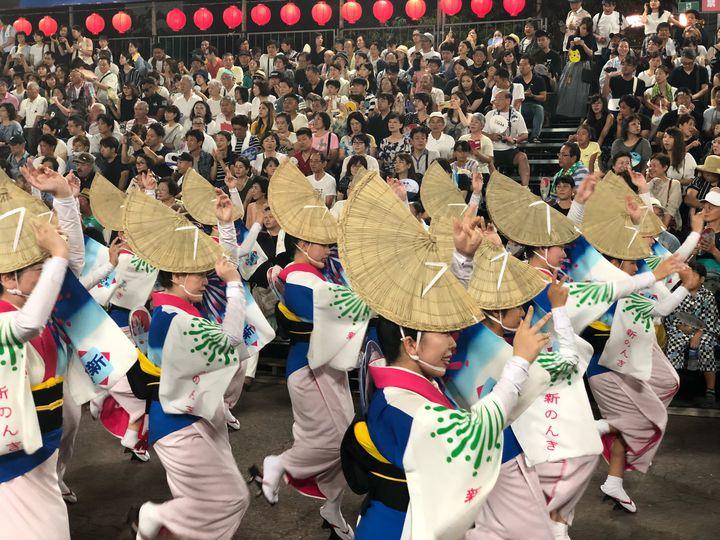 【終了】これこそ夏の伝統的な風物詩 !徳島県で「鳴門市阿波踊り」開催
