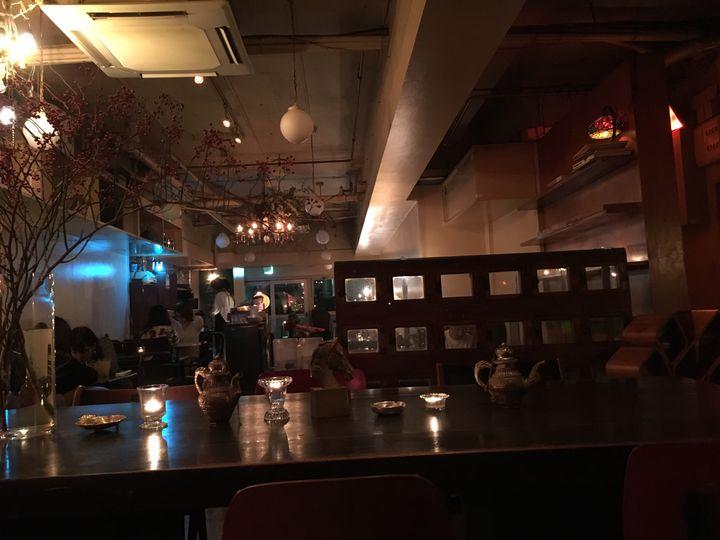 渋谷 ザリガニ カフェ