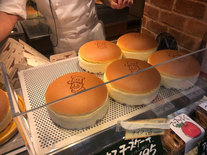 大阪 デザート りくろーおじさんの店