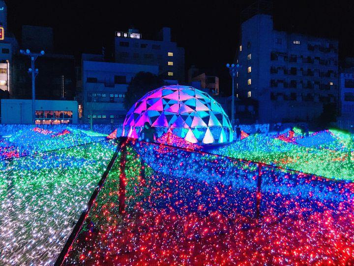鹿児島の夜を100万球のイルミネーションが彩る。『天文館ミリオネーション2020』