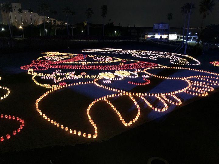 【終了】1万本のキャンドルが描く光の地上絵。福岡の「キャンドルナイト」に行きたい!