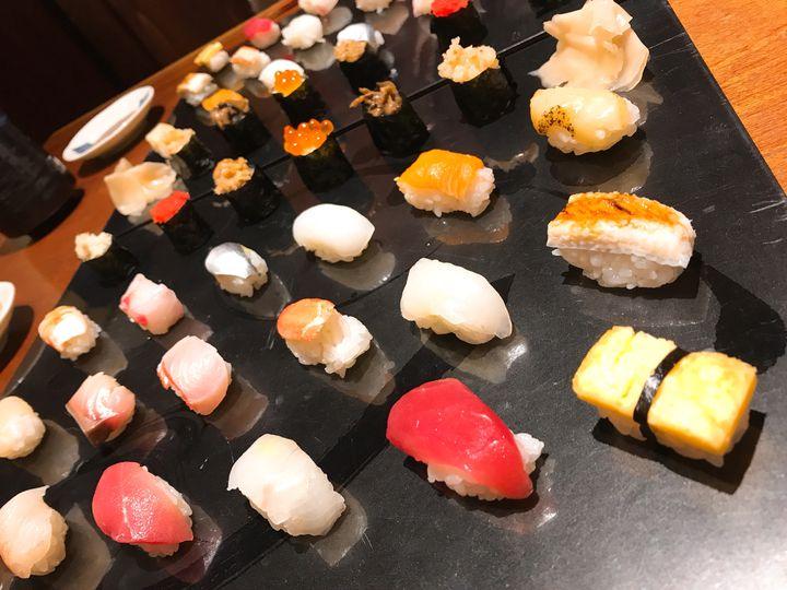 予約必須のフォトジェ寿司!渋谷・円山町わだつみのランチが女子に魅力的過ぎた