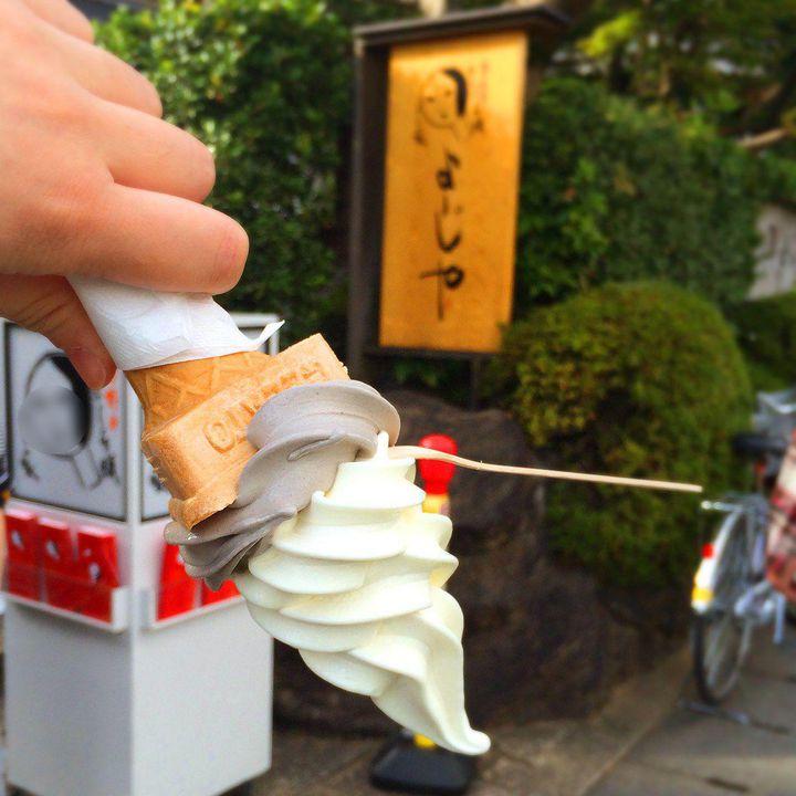 """逆さで落ちないアイスクリーム!京都にある「京豆庵」の""""落ちない""""アイスをご紹介"""