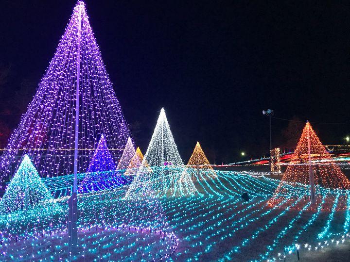 【終了】200万球の光が輝く。つま恋リゾート彩の郷「サウンドイルミネーション」が開催