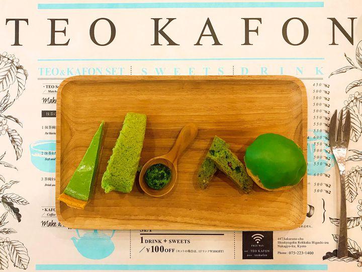 抹茶好きにはたまらない!京都「テオカフォン」の抹茶プレートが魅力的すぎる