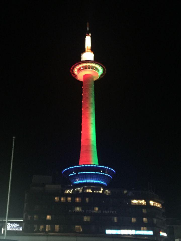 【終了】ライトアップも実施!「KYOTO TOWER CHRISTMAS 2018」開催