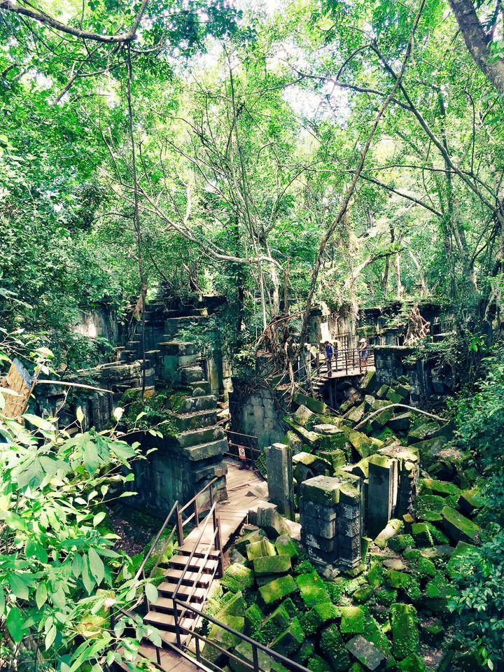 まるで物語の世界。カンボジアの「ベンメリア遺跡」が神秘的すぎる!