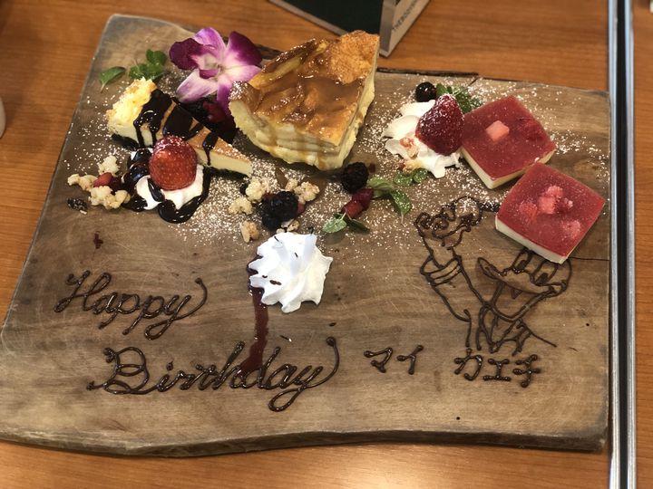 横浜 誕生日 Roof Top Cafe