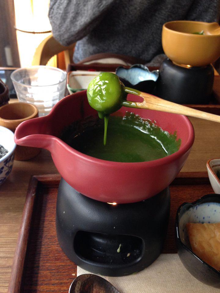 """抹茶好きは知ってるよね?神楽坂にある""""抹茶フォンデュ""""が夢のよう"""