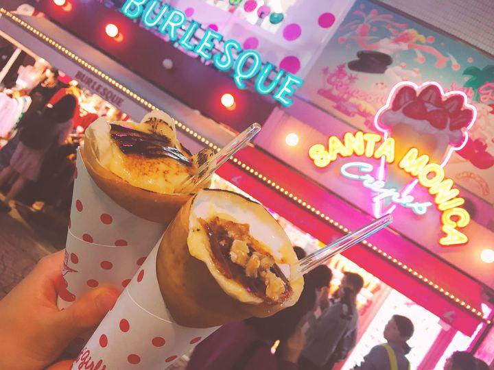 ブリュレクレープが東京・原宿で食べられる!「サンタモニカクレープ」の魅力とは?