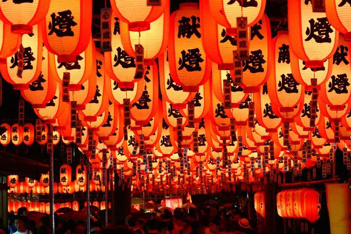 【終了】荘厳神秘な夏の風物詩。三重県桑名市「多度大社ちょうちん祭り」開催