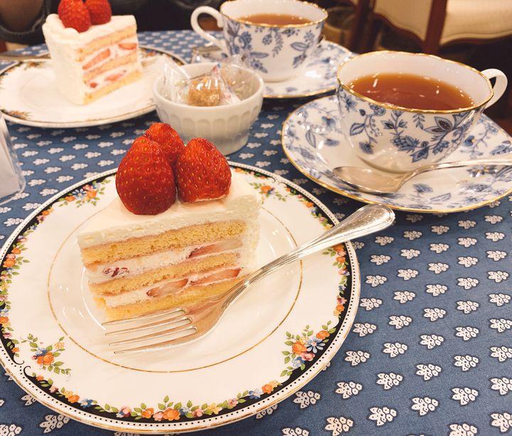"""可愛いケーキ代表!""""ショートケーキ""""が美味しい東京都内のカフェ7店"""
