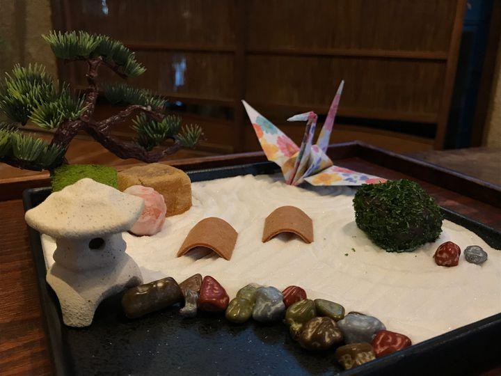 「食べられる日本庭園」が素敵!Mamezo & Cafeの箱庭スイーツに大注目
