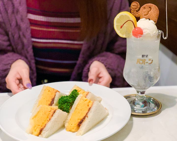 オープン初日に行ってきた!人気のレトロカフェ「喫茶パオーン」が東京初上陸